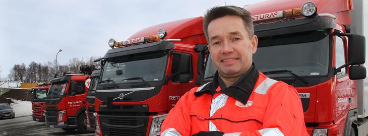 Anders Tverbakk daglig leder i Retura Iris