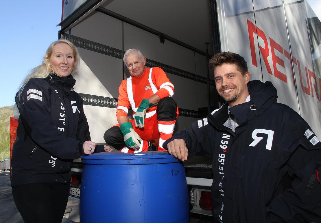Retura Iris henter farlig avfall i Bodø og Salten