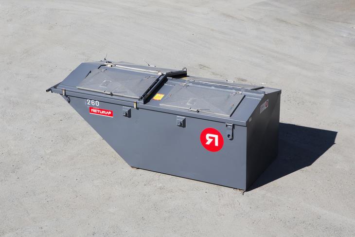 8 m3 container