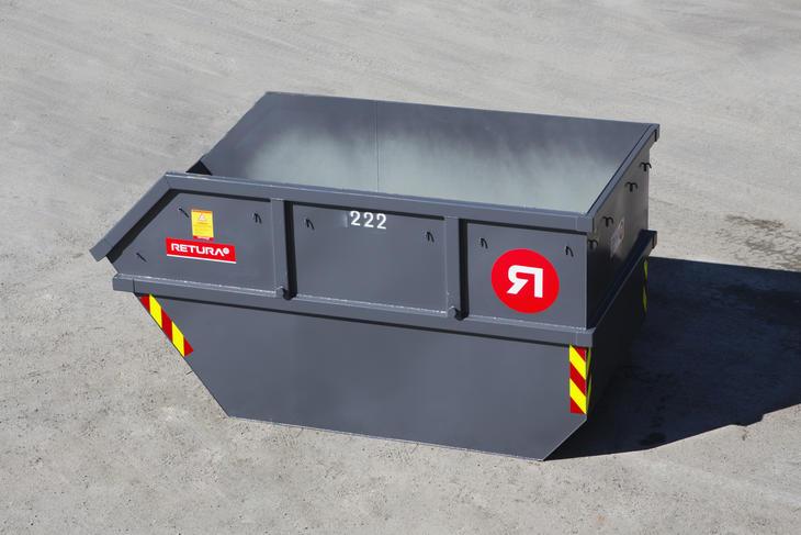 viser 10 m3 container